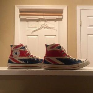 British flag Converse